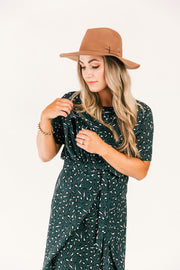 SALE- Elyse Dress- Botanic Leopard WAS $139
