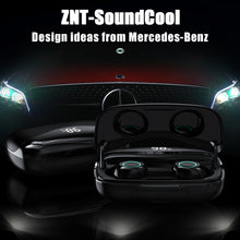 Load image into Gallery viewer, ZNT SoundCool Bluetooth Earphone Wireless Headset Large Capacity Hifi Sound Water Resistant