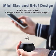 Load image into Gallery viewer, ZNT MiniDots Small Bluetooth Portable Hifi Sound Metal Speaker