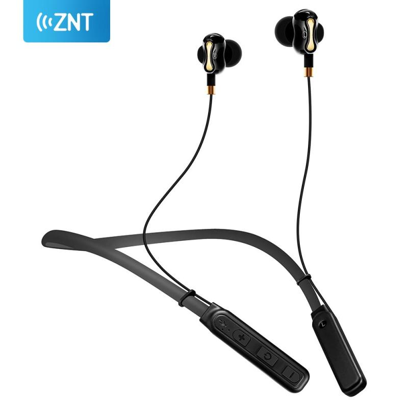 ZNT X13 Dual Bluetooth Speakers Running Gym Sports Earphone