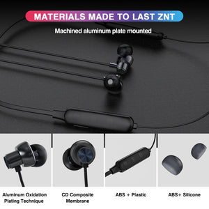 ZNT H8 True Wireless Bluetooth Earphone Around Neck Headset
