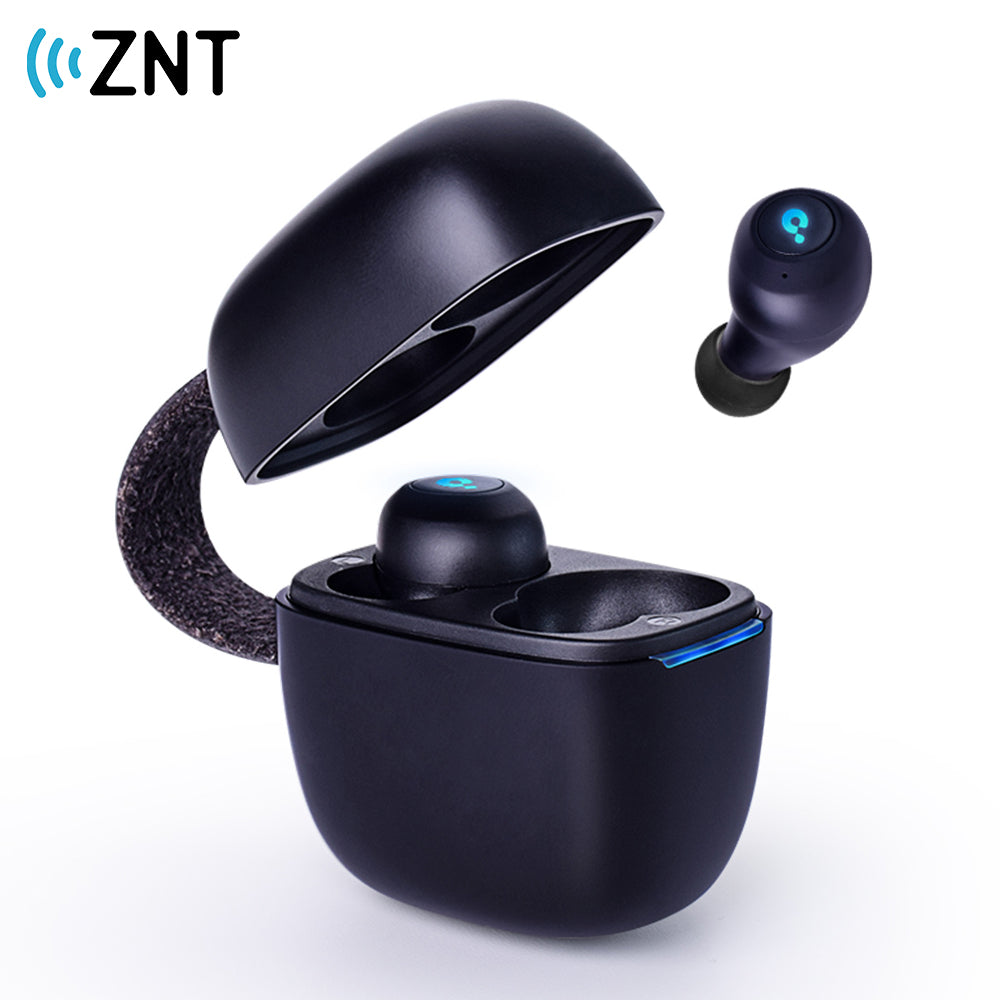 ZNT A7-B Bluetooth 5.0 Wireless Earphone Iron Men HIFI Sound Earpiece