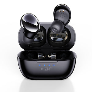 ZNT RockHifi True Wireless Bluetooth Earphone Mini Portable Bluetooth Earphone  V5.0 Wireless Earbud with Super HiFi Sound, Built-in Mic, Touch Control Function, and IPX5 Waterproof