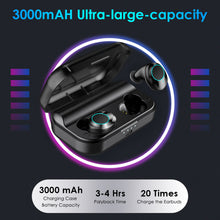 Load image into Gallery viewer, ZNT SoundBass IPX7 Waterproof Hifi Deep Bass Bluetooth 5.0 Wireless Touch Control Earphones