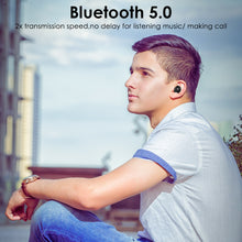 Load image into Gallery viewer, ZNT A7-B Bluetooth 5.0 Wireless Earphone Iron Men HIFI Sound Earpiece