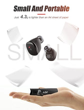 Load image into Gallery viewer, ZNT D08-L Bluetooth 5.0 Hi-Fi Mini Earphone True Wireless Sport Earbuds Black