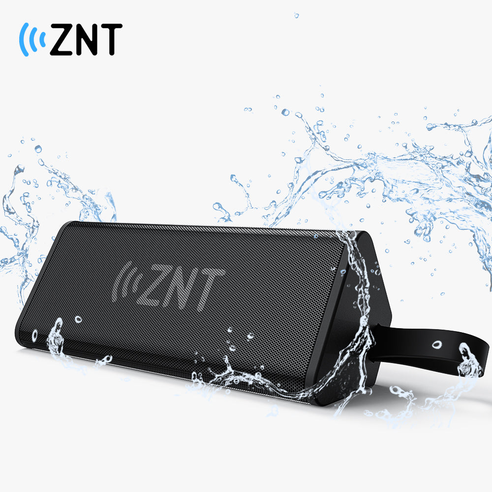ZNT ThunderBar Bluetooth Speaker Bluetooth 5.0 True Wireless Stereo IPX7 Waterproof Portable Speaker