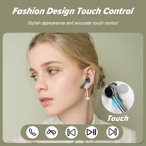 ZNT FreePods Bluetooth Earphone Wireless Headphones Wireless Earbuds Touch Control