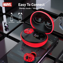 Load image into Gallery viewer, 【Marvel Official Authorised】ZNT Spider-Man  TWS Bluetooth 5.0 Hifi Sound Wireless Earbuds