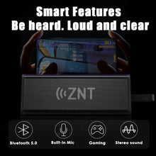 Load image into Gallery viewer, ZNT ThunderBar Bluetooth Speaker Bluetooth 5.0 True Wireless Stereo IPX7 Waterproof Portable Speaker