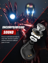 Load image into Gallery viewer, ZNT A7-L Bluetooth 5.0 + EDR True Wireless Earphone Iron Men Series HIFI Sound Quality Earpiece