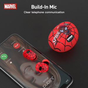 【Marvel Official Authorised】ZNT Spider-Man  TWS Bluetooth 5.0 Hifi Sound Wireless Earbuds