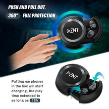 Load image into Gallery viewer, ZNT AirFits Pro Wireless Bluetooth 5.0 Hifi Earphone Waterproof Sport Earpiece