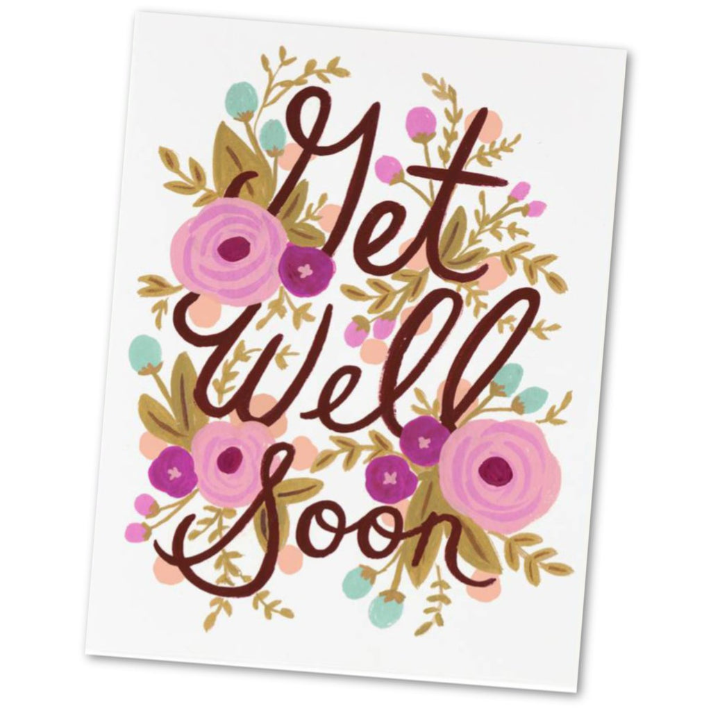 Get Well Greetings Card