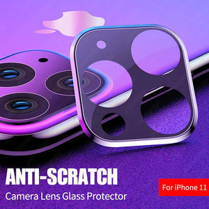 iPhone 11 PRO Anti-Scratch Camera Lens Tempered Glass Protector