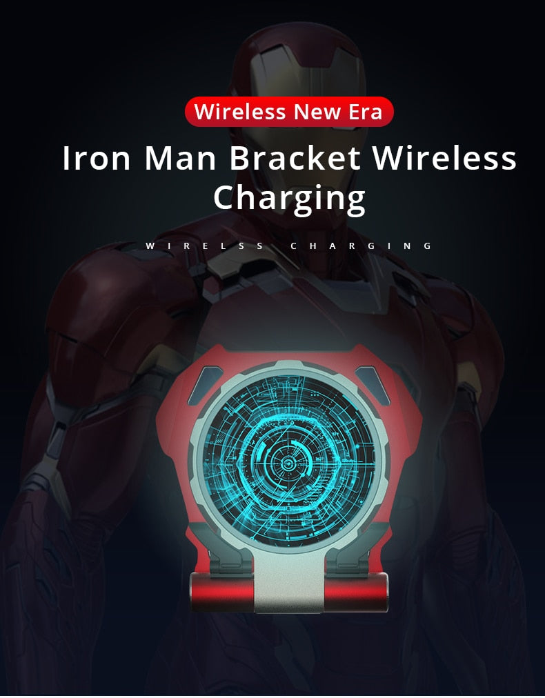 Arc Reactor Wireless Quick Charger Awesomestbuy