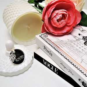 White Lumiere Candle