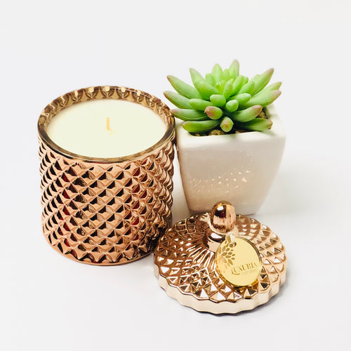 Lumiere Candle - Copper/Rose Gold