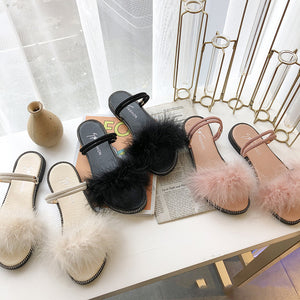 Women's Feather Sandals