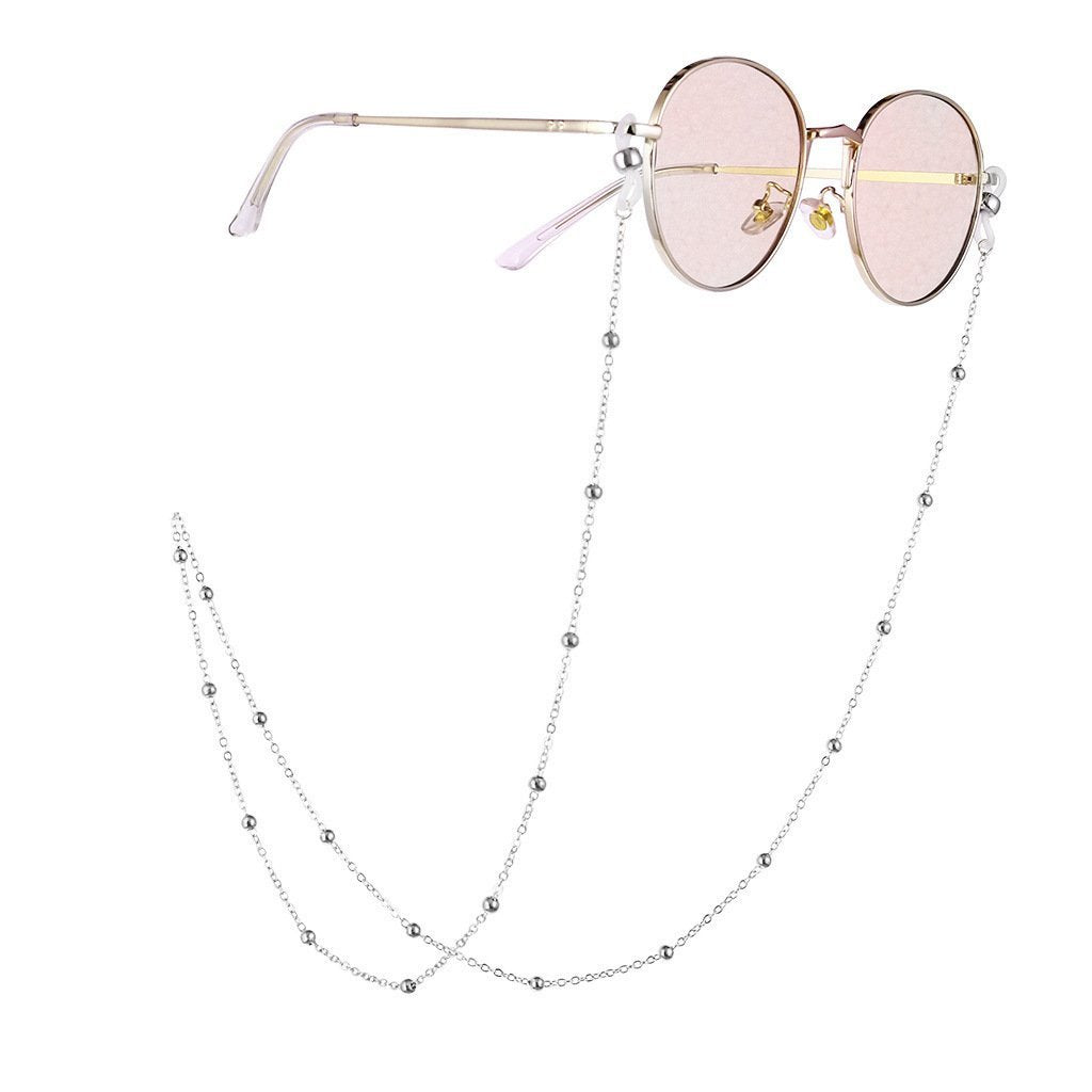 Eyeglass Chain Bead Sunglasses Strap Necklace