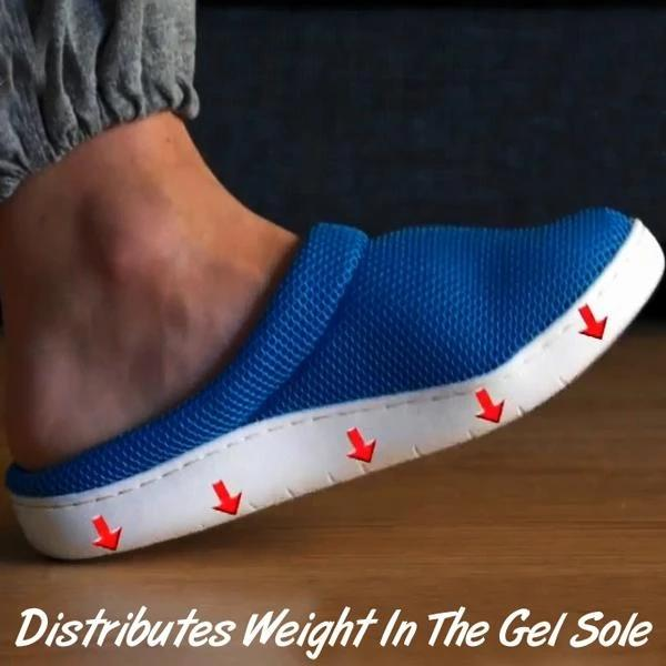 Comfy Breathable Anti-Fatigue Gel Slippers