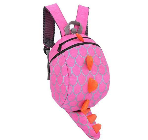 Kids Toddlers Dinosaur Backpack with Safety Leash for Boys Girls