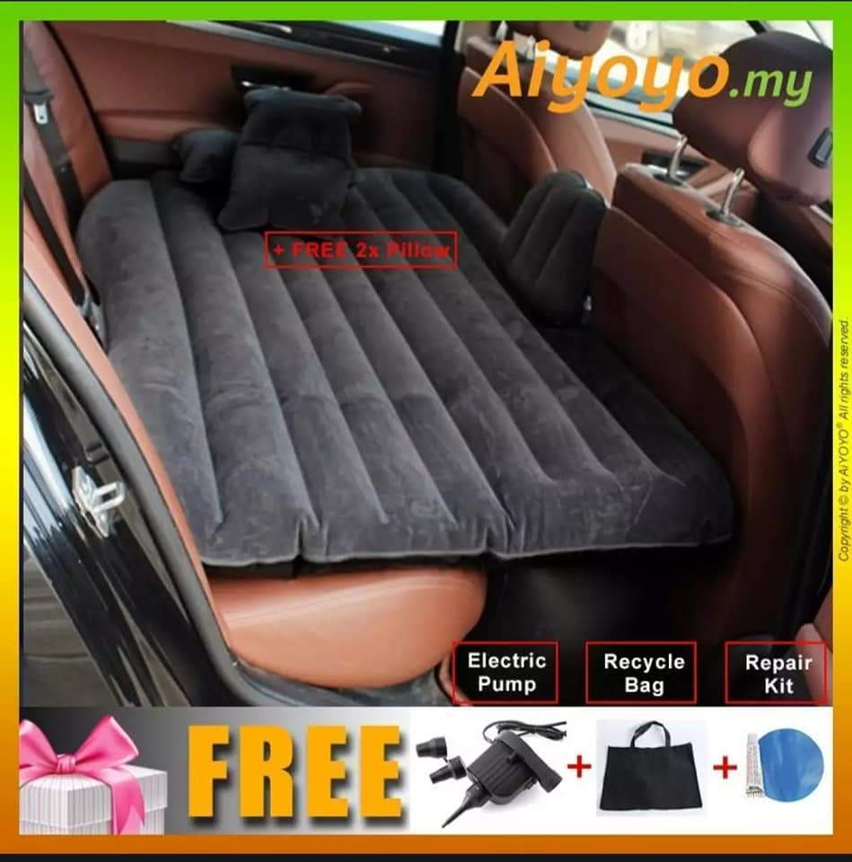 Car Bed Car Air Mattress Car Universal Rear Seat Cushion Air Bed Self-driving Tour Bed For Auto Car Interior Automotive-HOME & GARDEN-zadame.com-zadame.com