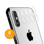 Camera Lens Protector Apple iPhone Xs Max/Xs/X (5PACK)