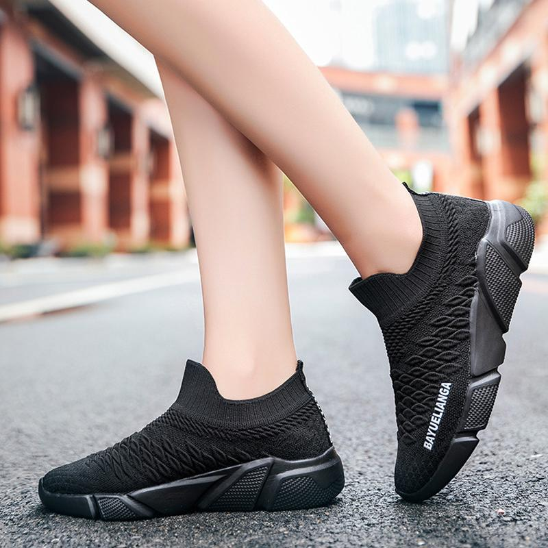 Couple Casual Sports Shoes One Foot Lazy Shoes