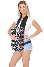 12 Can Beer Belt Vest
