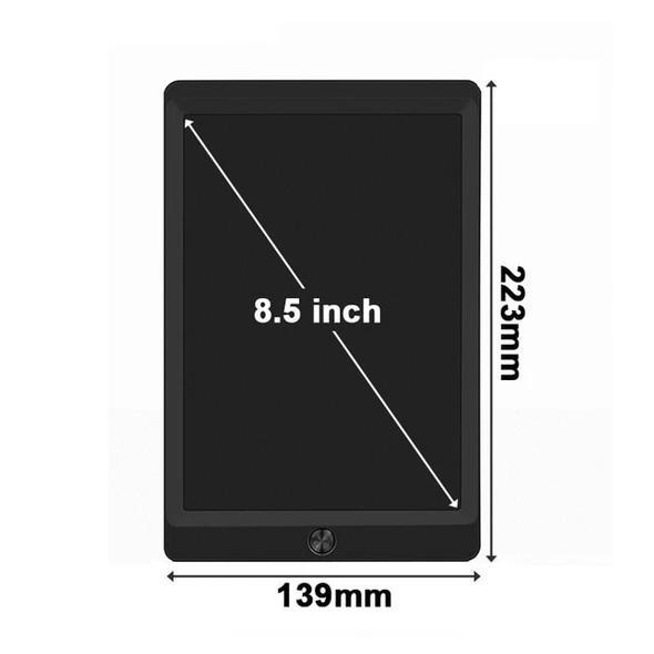 LCD Writing Tablet 8.5 inch Electronic Digital Drawing