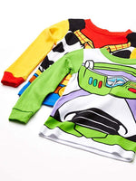 Toy Story Disney Boys' 4-Piece Cotton Pajama Set