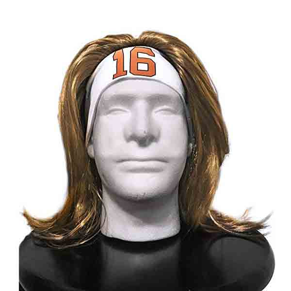 Star Athlete Headband Wig - Fits Kids and Adults