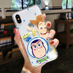 Toy Story Anti Fall  iPhone6/6S/7/8Plus/X/XS Protection Soft Case