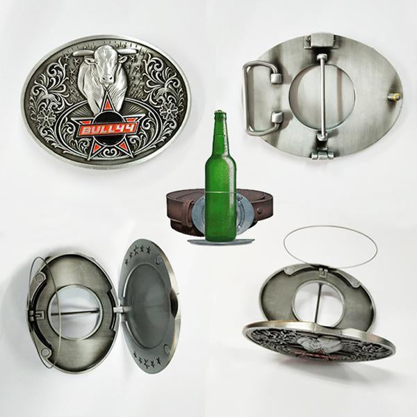 Beer Buckle Holds A Bottle Or Can Hands Free-Apparel & Fashion-zadame.com-bull-zadame.com