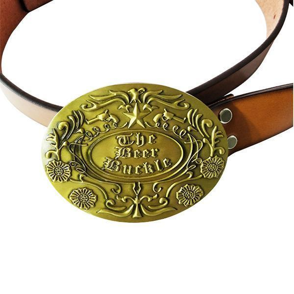 Beer Buckle Holds A Bottle Or Can Hands Free-Apparel & Fashion-zadame.com-classic-gold-zadame.com