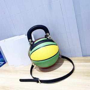 Basketball Shaped Shoulder Messenger Bag