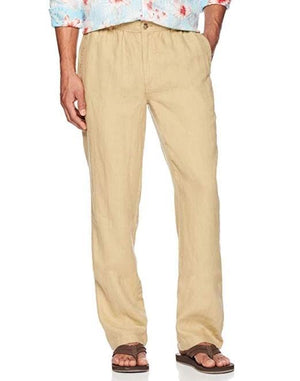 Men's Relaxed-Fit Linen Pant
