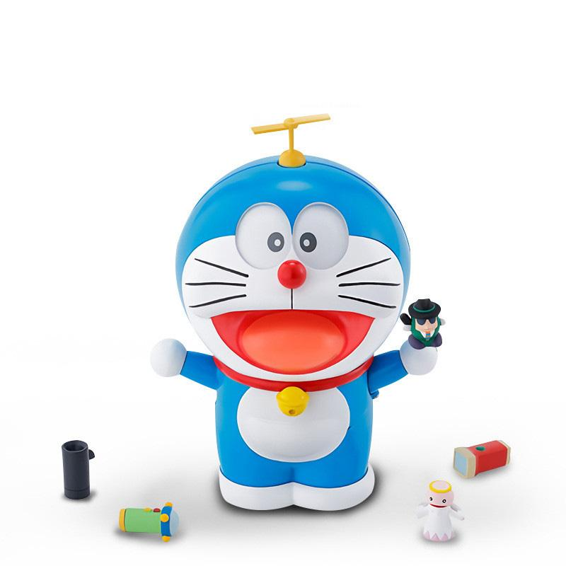 Genuine Doraemon The Robot Spirits Face/Eyes-Changeable Model Kits Anime Action Figure Collection Toys for kids