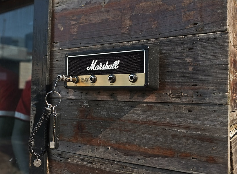 Vintage Guitar Amplifier Key Holder
