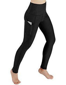High Waist Out Pocket Yoga Pants Stretch Leggings
