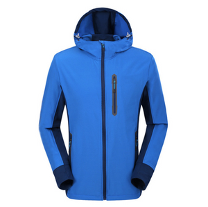 Audiazy Men's Spring Autumn Camping Hiking Softshell Jackets Outdoor Sports Coats Traveling Fishing Trekking Windbreaker OM048-OUTDOOR & EQUIPMENT-zadame.com-royal-M-zadame.com