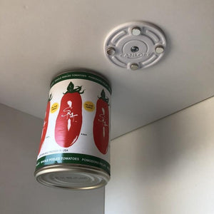 CanLoft, magnetic can hangers for wire and solid shelves-KITCHEN & SUPPLIES-zadame.com-White - 2 circles-zadame.com
