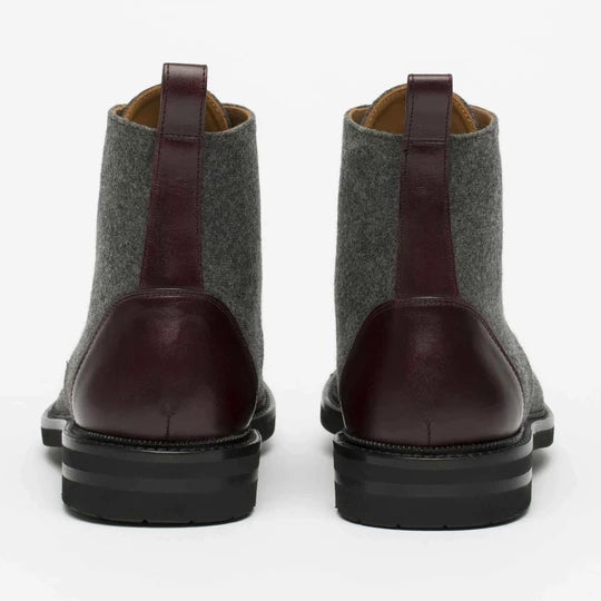 The Jack Boots in Grey/Brown