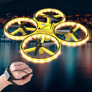 Remote Control Watch Induction Quadcopter