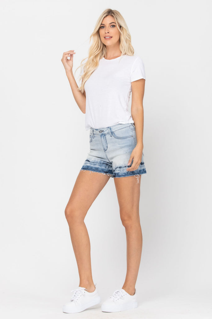 The Ombre Shorts - Roseabella