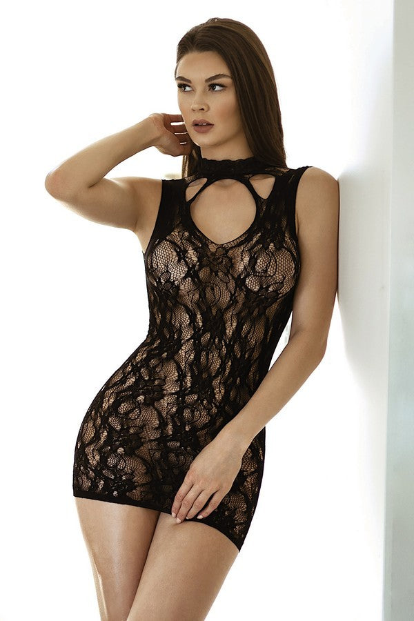 XXX REG & PLUS The Lace Desires Bodysuit Lingerie - Roseabella