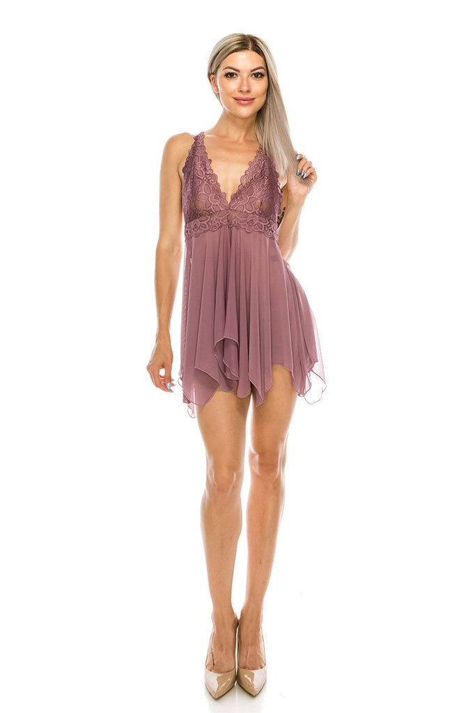 The Intimate Babydoll Lingerie - Roseabella