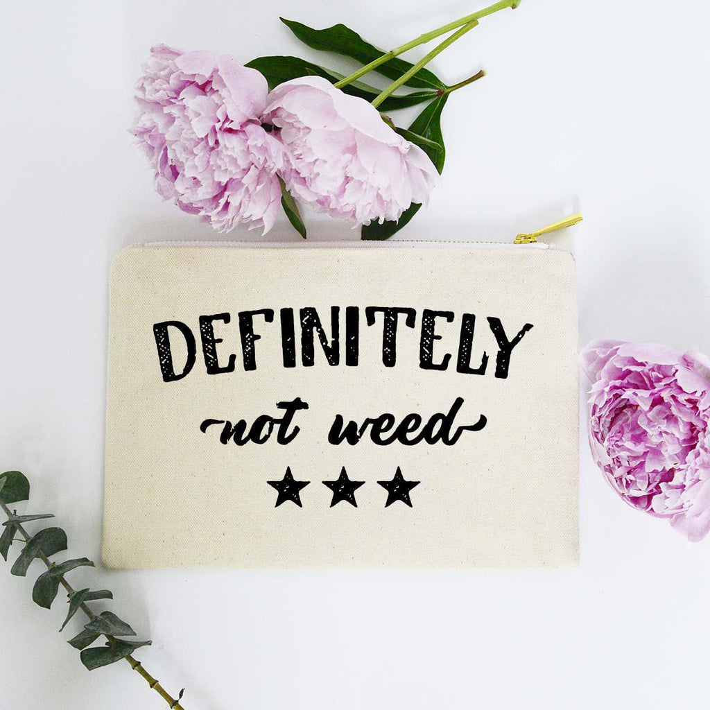 Definitely Not Weed Bag - Roseabella
