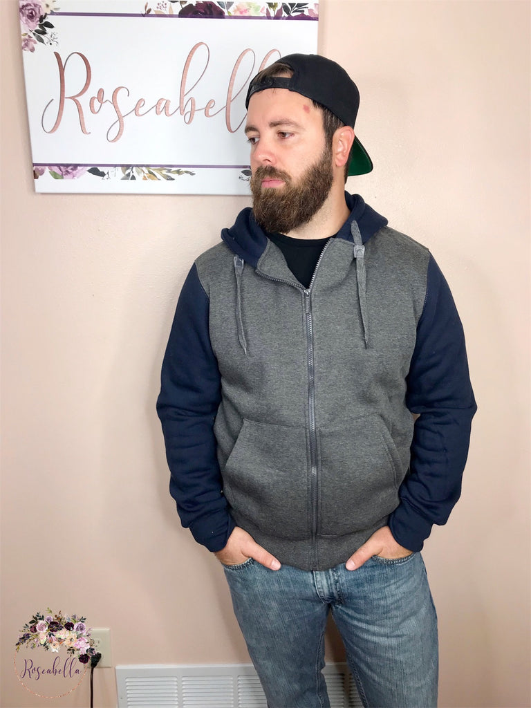 3XL ONLY King's Fleece-Lined Hoodie - RoseabellaCo